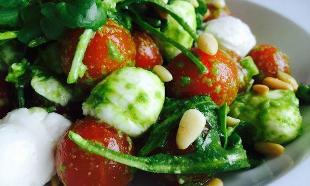 Tag en pause fra arbejdet med sund og god mad