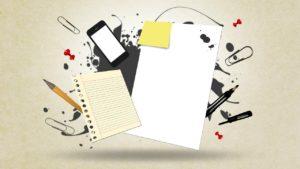 kontor og papir