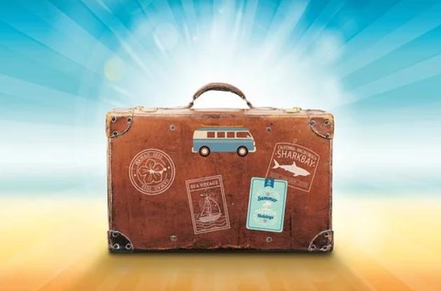 Pakket kuffert
