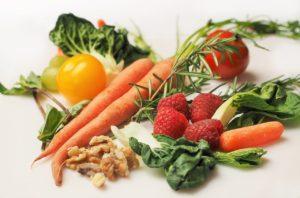 slankekur med grøntsager