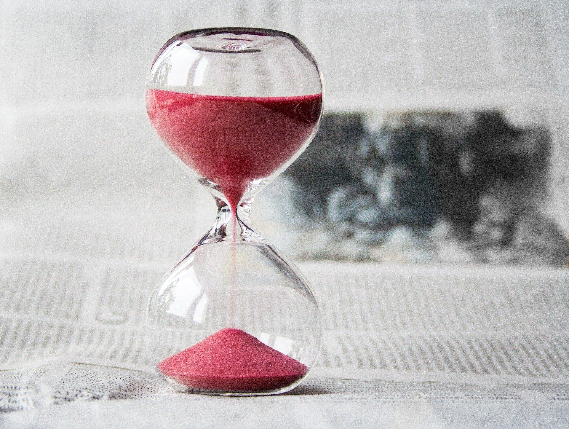 Stort timeglas