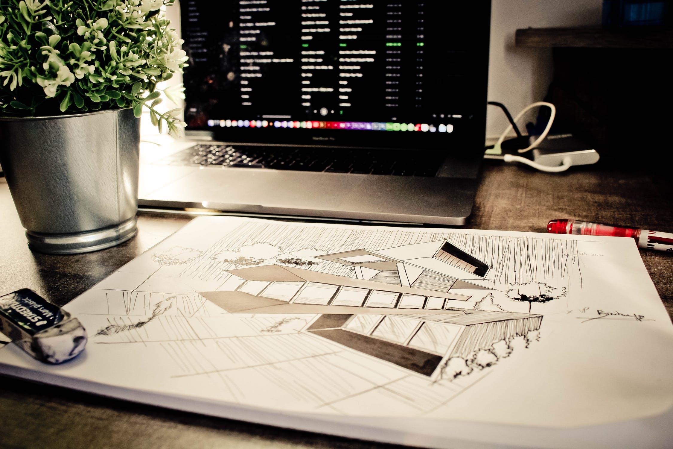 arkitekttegning