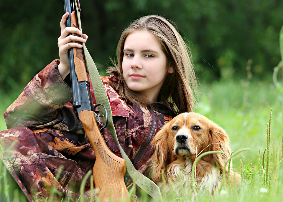 To på jagt