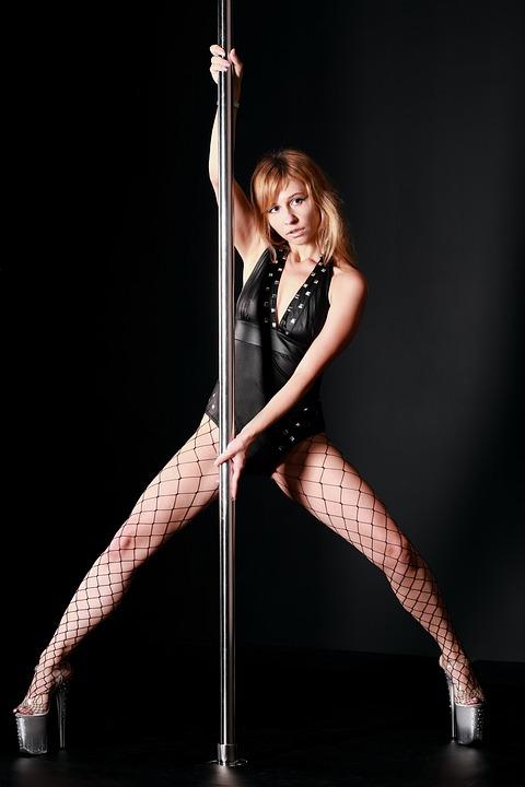 Poledancer stripper pige