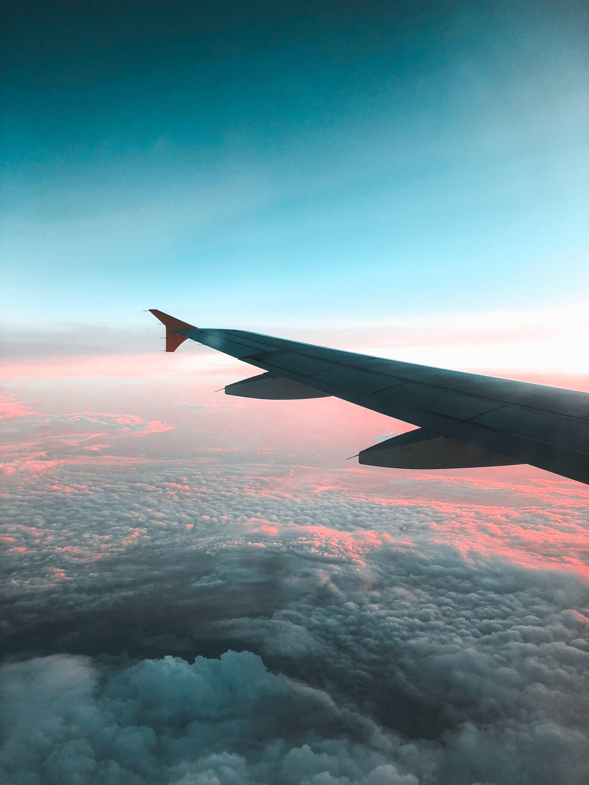 udsigt fra flyvindue
