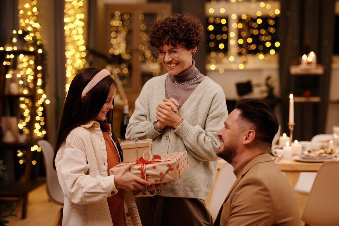 Familie julegave til mand