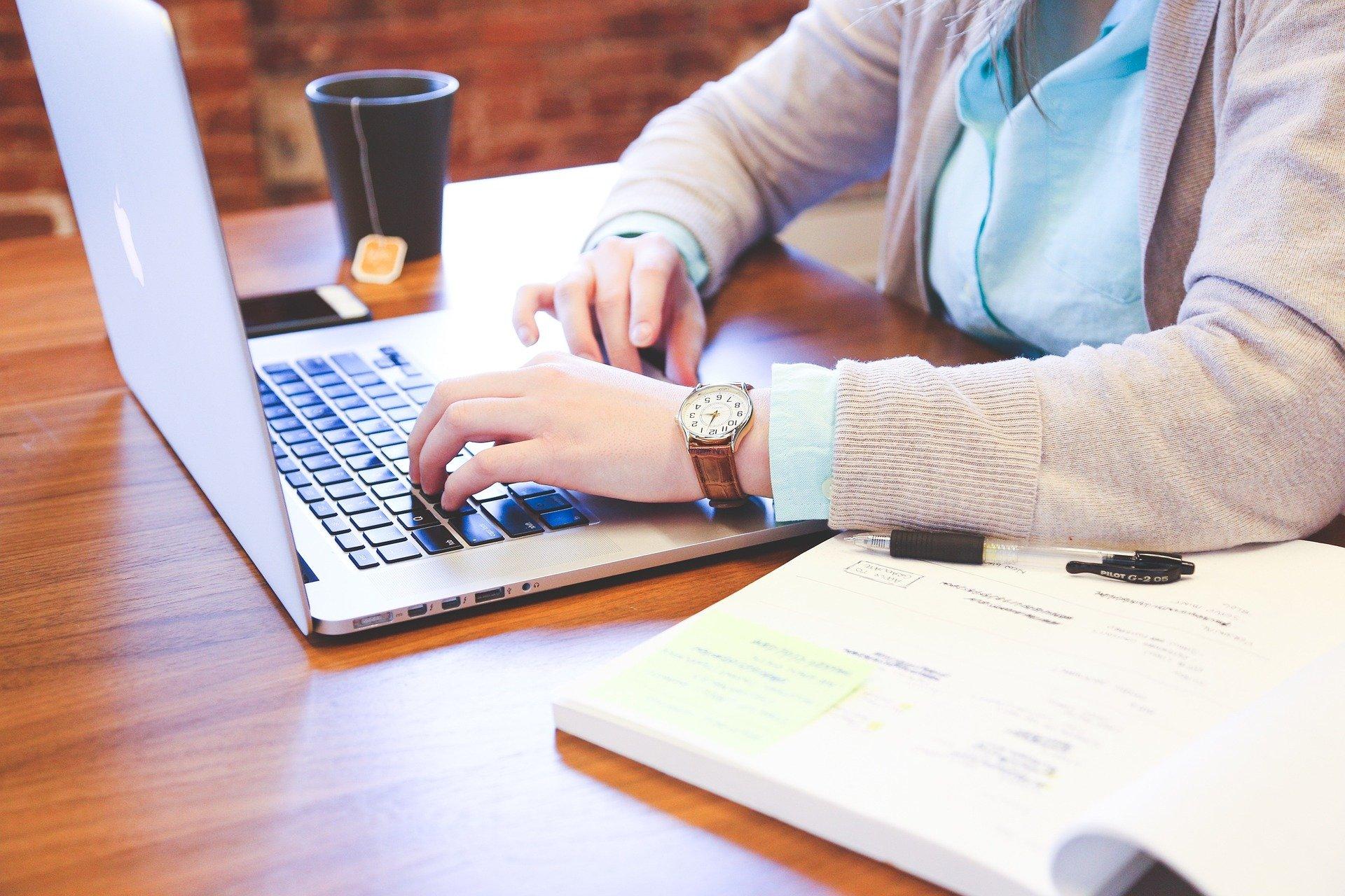 Man er ofte afhængig af internettet for at kunne arbejde